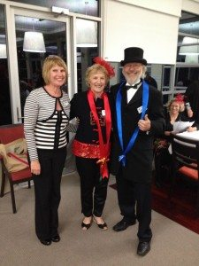2013 RCL CUP NIGHT - Fashions on The Field Winners - Mary George Judge, Delwyn Ellis & Hans Witlox