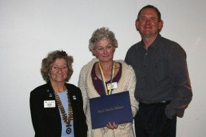 President Helen, PHF Jenny Selway & husband Richard PE Tatura RC June 2014