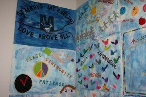 RCL Bully Stopping Program - 2014 - St Mary's Primary School Class Quilt Panels