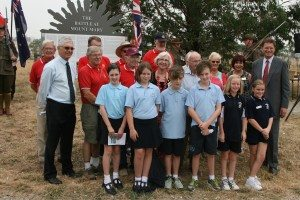 RCL Members, Dignitaries & School Group
